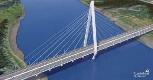 Artist's Impression of New River Wear Bridge, Courtesy of Sunderland City Council