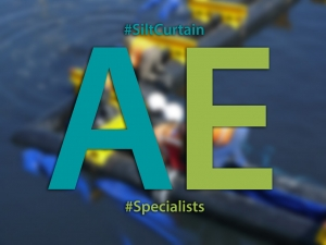 AE has become the innovative driving force in cost effective aquatic silt curtain design